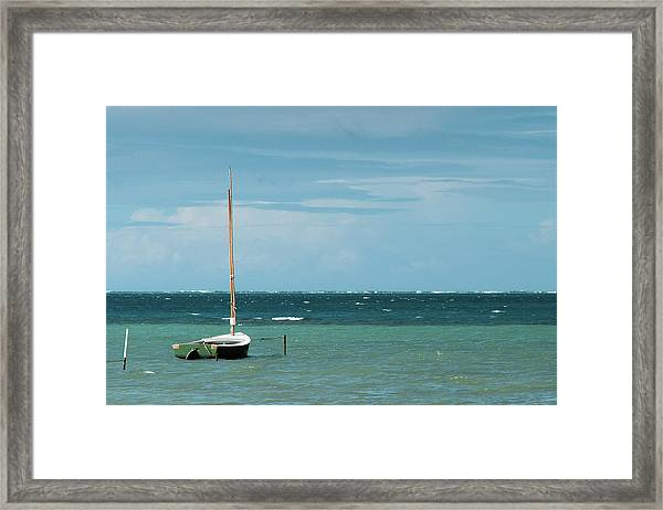 Framed Print featuring the photograph The Sea Calls My Name by Break The Silhouette