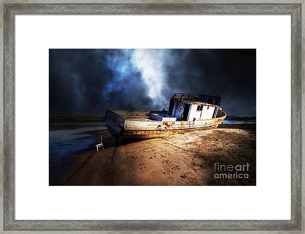 The Sea Never Gives Up Her Dead Dsc2099 Framed Print