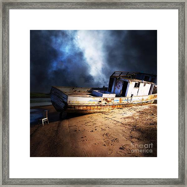 The Sea Never Gives Up Her Dead Dsc2099 Square Framed Print