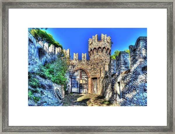 The Senator Castle - Il Castello Del Senatore Framed Print