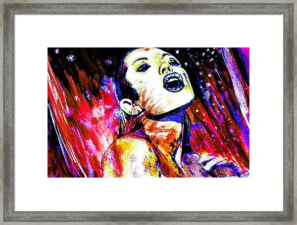 The Sensual Woman 1 Framed Print
