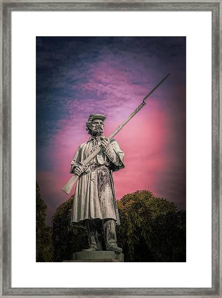 The Sentinel Framed Print