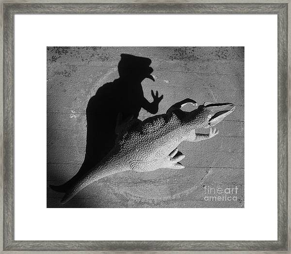 The Shadow Is Mightier Img 2095 Framed Print