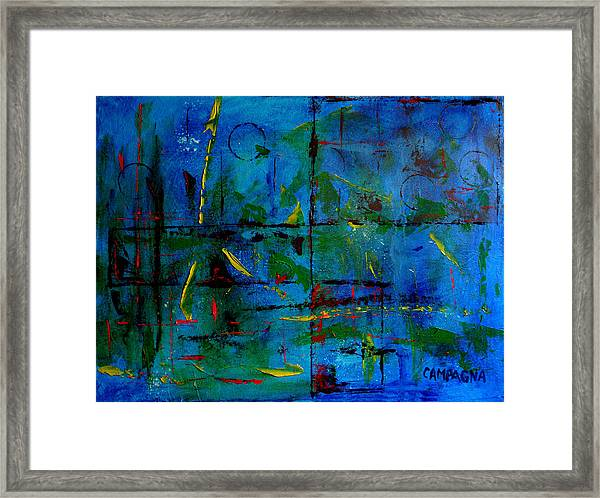 The Shapes That Bind Framed Print