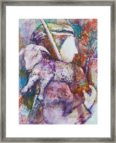 The Shepherd Framed Print