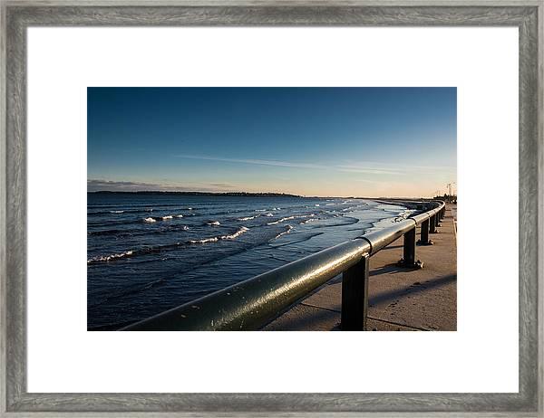 The Shore Line Framed Print