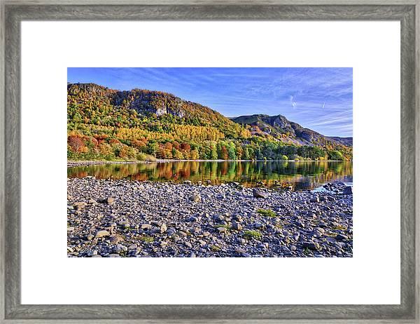 The Shore Framed Print