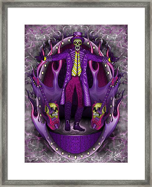 The Show Stopper Framed Print