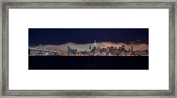 The Silken Fog Framed Print