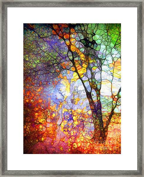 The Simple Tree Framed Print