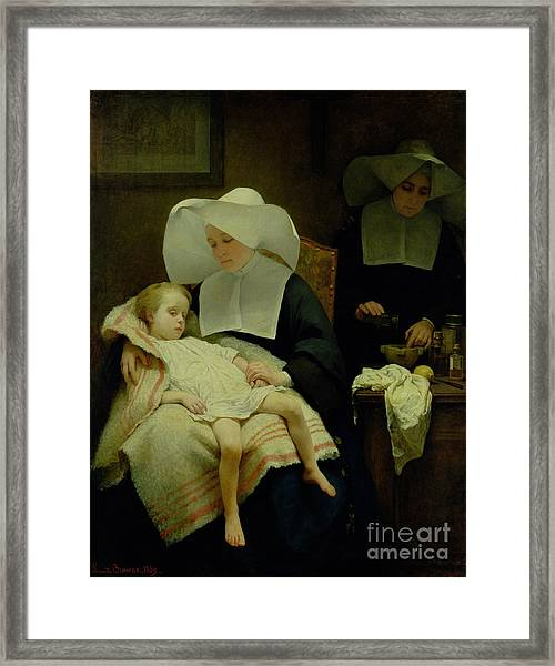 The Sisters Of Mercy Framed Print