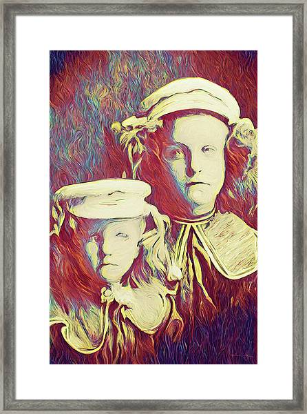 The Sisters Savage Framed Print