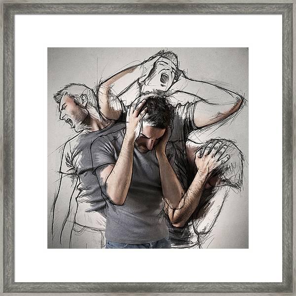The Sketches Inside Me Framed Print by Sebastien Del Grosso