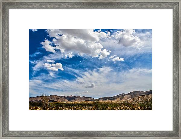 Framed Print featuring the photograph The Sky by Break The Silhouette