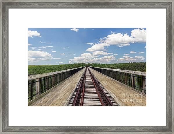 The Skywalk Framed Print