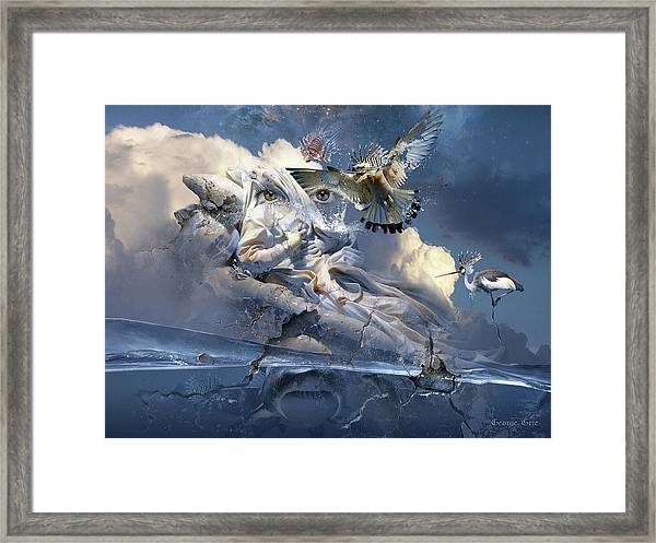 The Sleep Of Reason Produces Monsters Neo-surrealism Framed Print