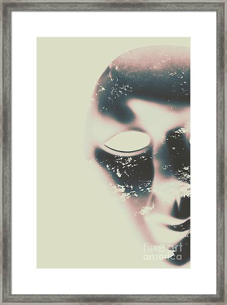 The Solace Of Stillness Framed Print