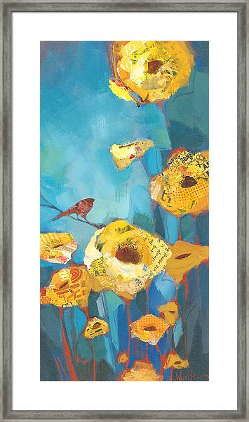 Framed Print featuring the painting The Soloist by Shelli Walters
