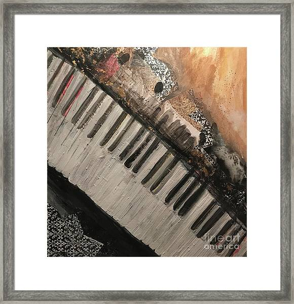 The Song Writer 2 Framed Print