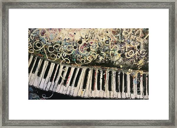 The Songwriter  Framed Print