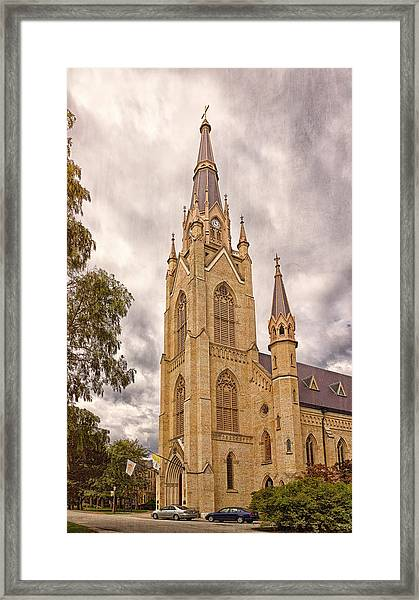 The Soul Of The Campus Framed Print