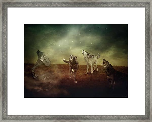 The Sound Of Magic Framed Print