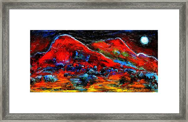 The Sound Of The Night Framed Print