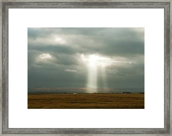 Framed Print featuring the photograph The Spectre by Scott Cordell