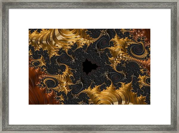 The Spiral Coast Framed Print