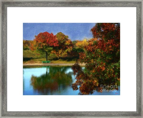 The Spirit Of Autumn Framed Print