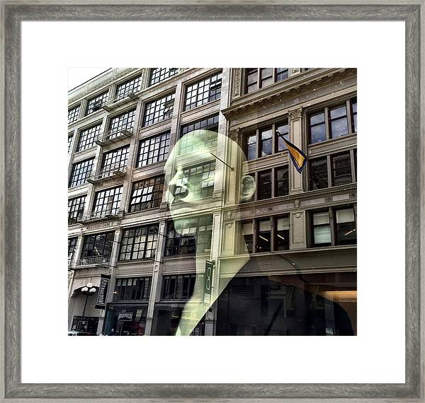 The Spirit Of San Francisco Framed Print