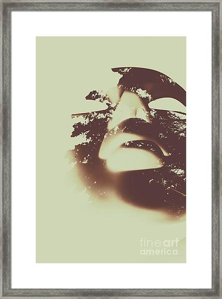 The Spirit Within Framed Print