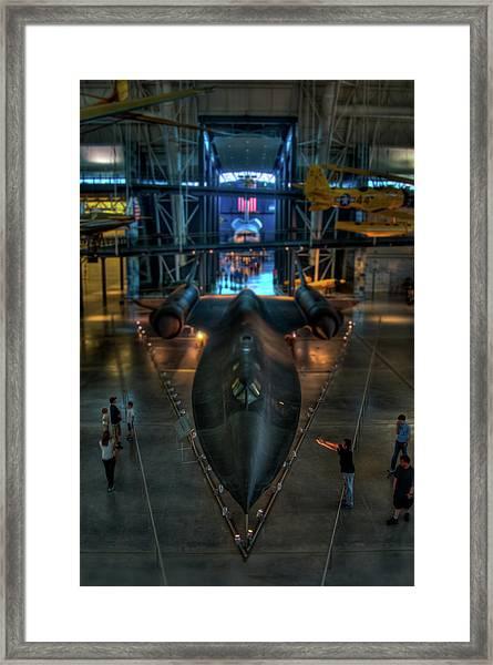 The Sr-71 Framed Print