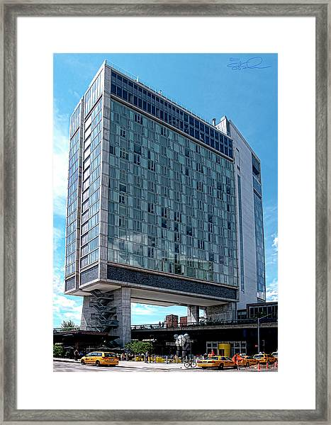 The Standard Hotel Framed Print