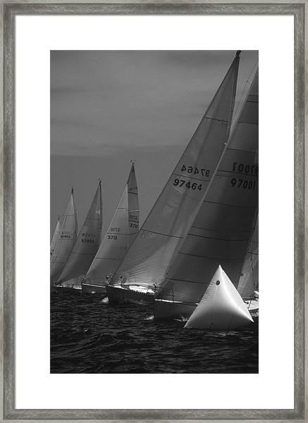The Start Framed Print
