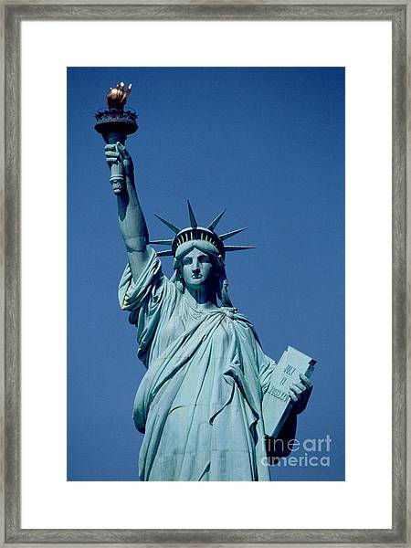 The Statue Of Liberty Framed Print