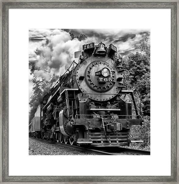 The Steam Age  Framed Print