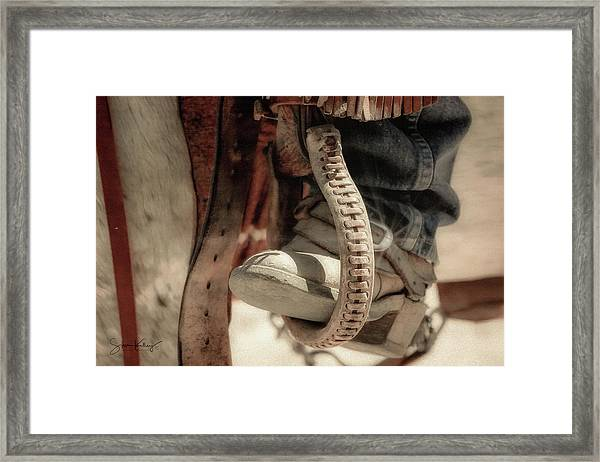 The Stirrup Framed Print