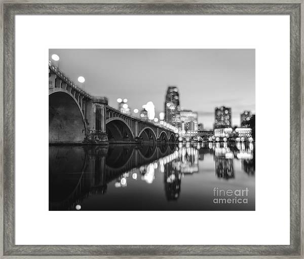 The Central Avenue Bridge Framed Print
