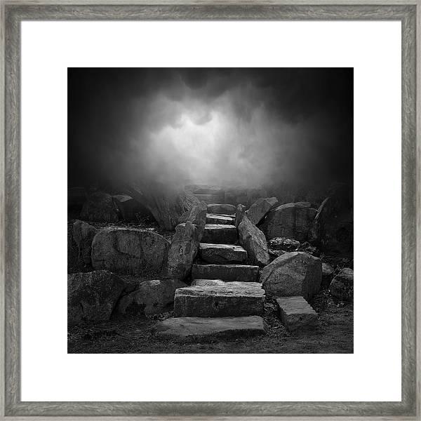 The Stone Steps I Framed Print