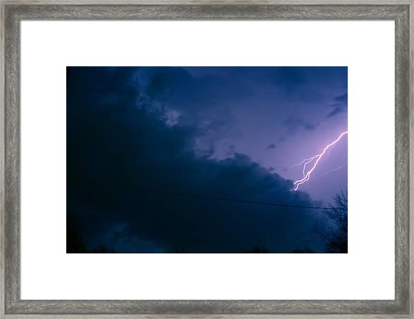 The Storm 1.2 Framed Print