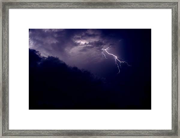 The Storm 1.3 Framed Print