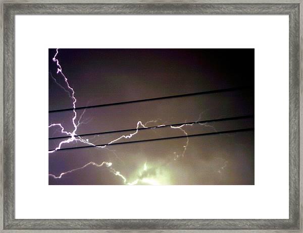 The Storm 1.4 Framed Print