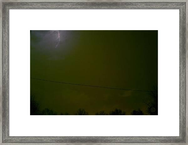 The Storm 2.1 Framed Print