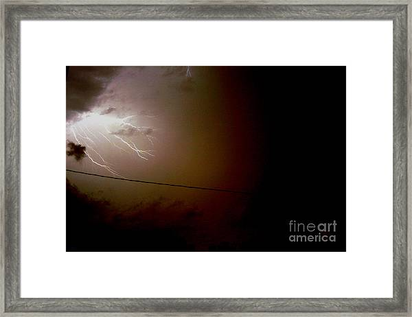The Storm 2.2 Framed Print