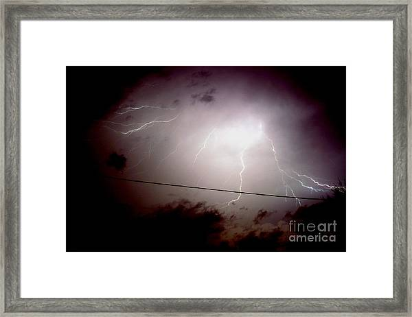 The Storm 2.3 Framed Print