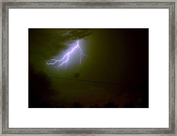 The Storm 2.4 Framed Print