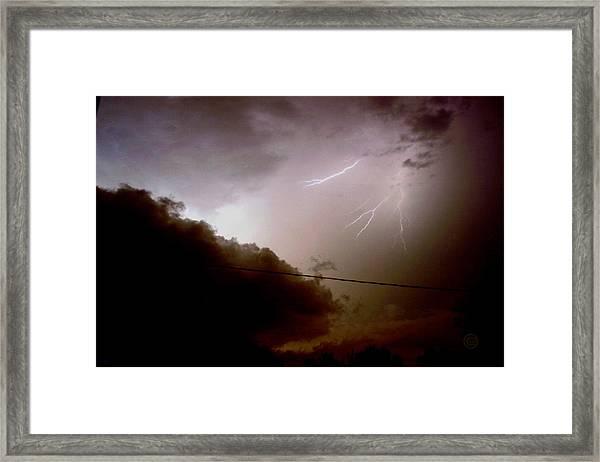 The Storm 2.5 Framed Print