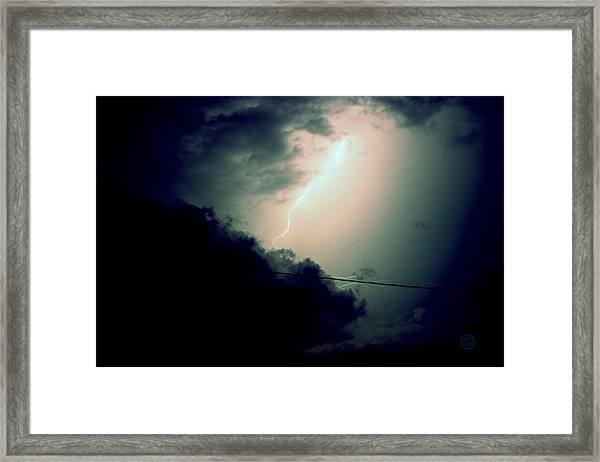 The Storm 2.6 Framed Print