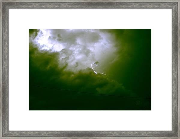 The Storm 2.7 Framed Print
